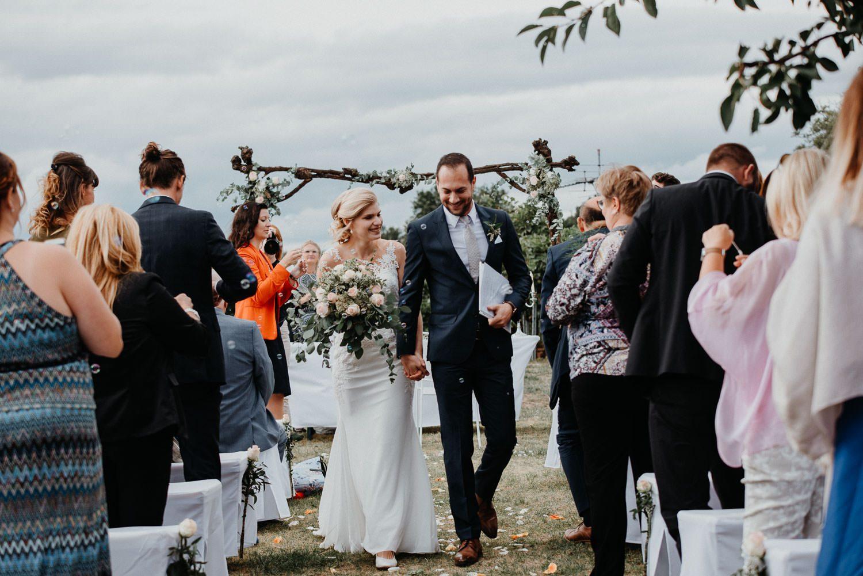 Vintage Hochzeit in den Weinbergen in Niederösterreich