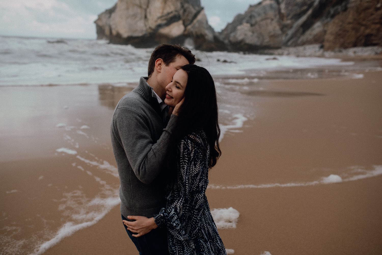 paarfotos praia de ursa portugal