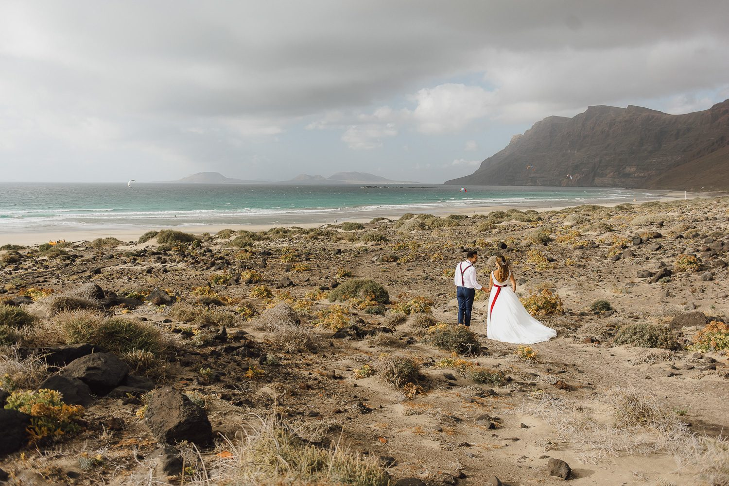 fotograf Lanzarote after wedding shooting