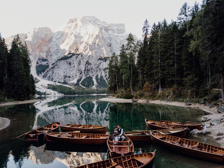 Pragser Wildsee hochzeitsfotograf