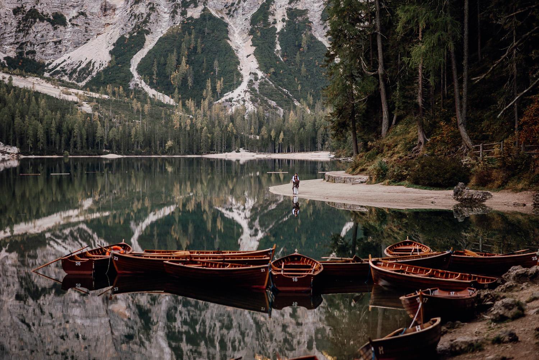 lago di braies fotosession
