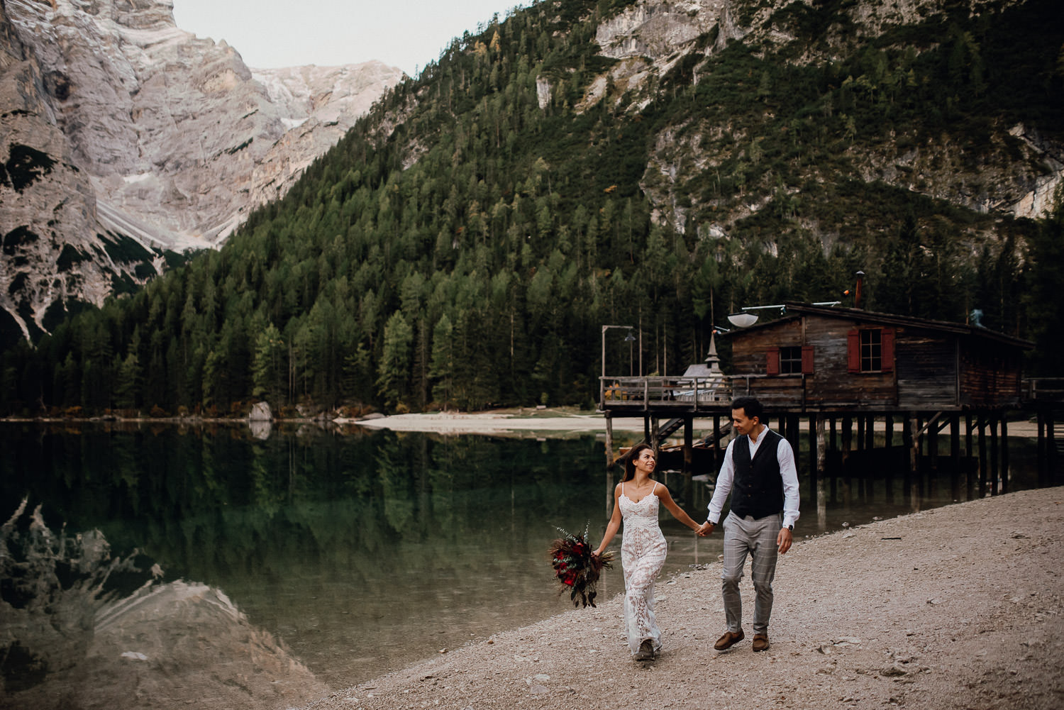 lago di braies shooting