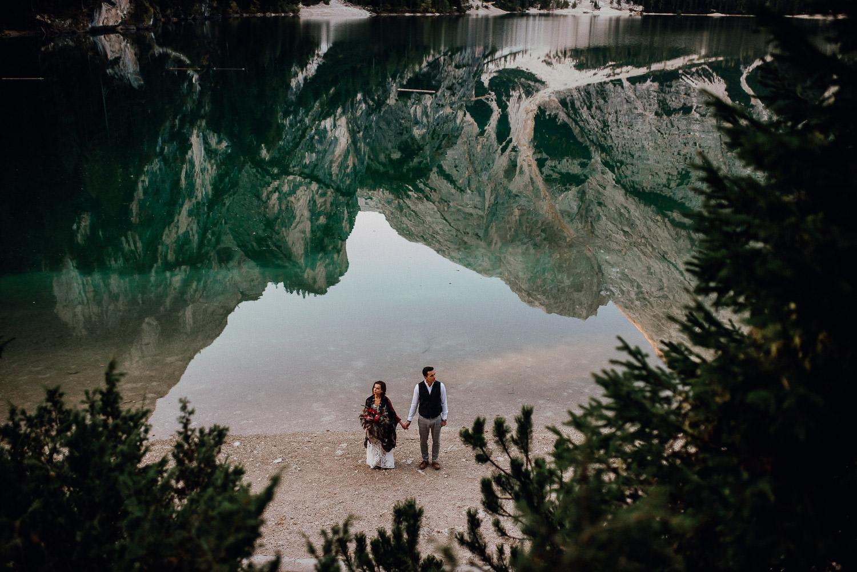Pragser Wildsee hochzeit